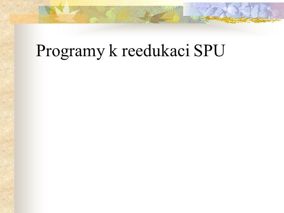Programy k reedukaci SPU