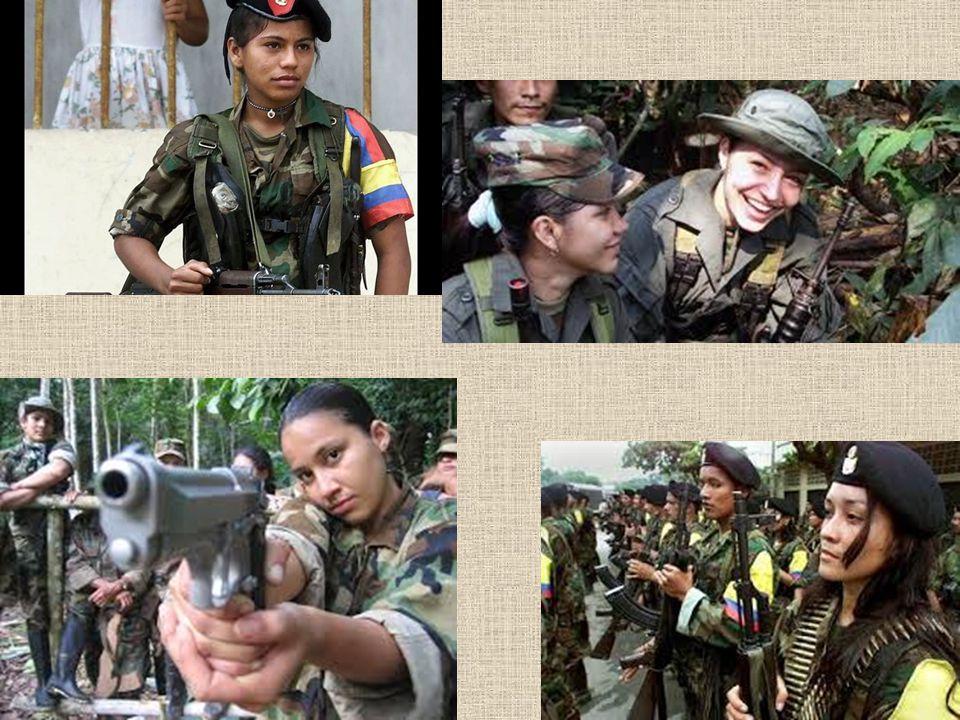 Nepřátelé a spojenci Nepřátelé: Kolumbijská armáda Pravicová paramilitantní organizace AUC (vznikla jako obranná reakce bohatých zájmových skupin (zejména drogových kartelů) na působení levicových FARC a ELN.
