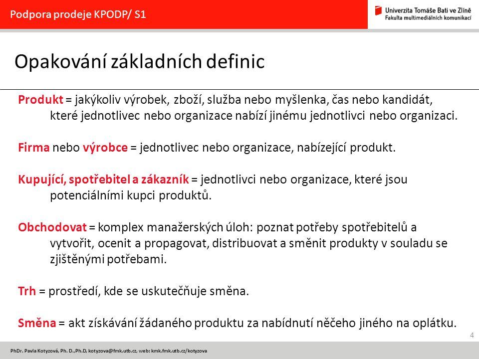 15 PhDr.Pavla Kotyzová, Ph.