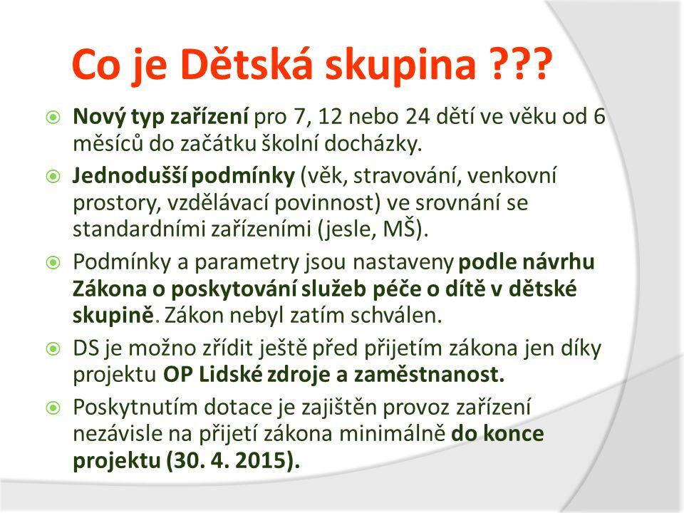 Další údaje o projektu  Doba trvání: 1.7. 2013 – 30.