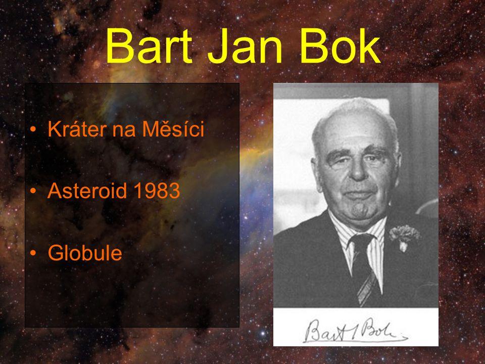 Bart Jan Bok Kráter na Měsíci Asteroid 1983 Globule