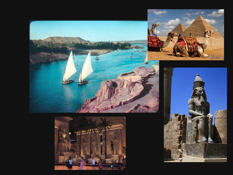 Egypt vznikl cca 3000 let p.ř.n.l. v údolí řeky Nil. Země byla rozdělena na Horní a Dolní Egypt.