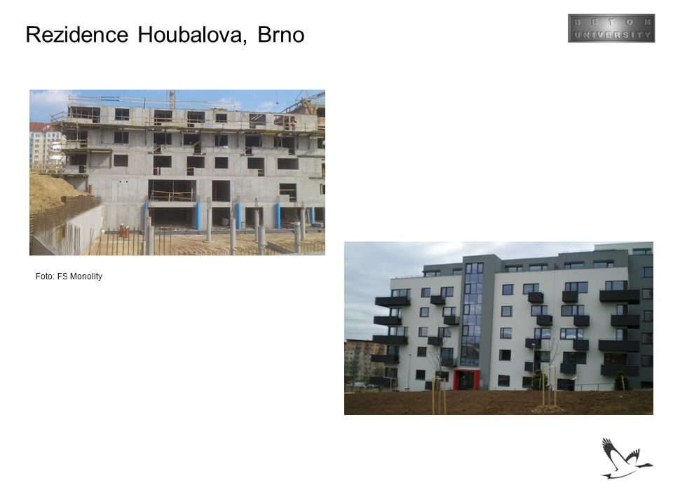 Rezidence Houbalova, Brno Foto: FS Monolity