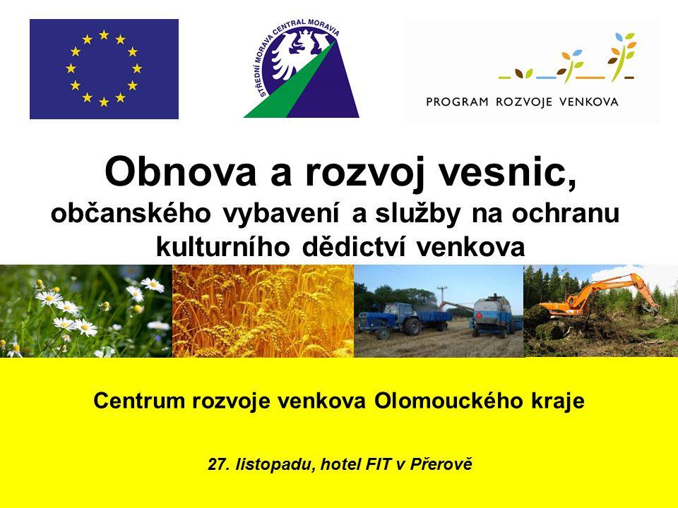 Centrum rozvoje venkova Olomouckého kraje 27.