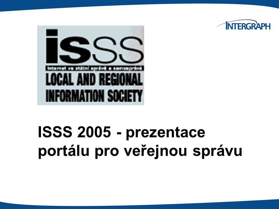 ISSS 2005 - prezentace portálu pro veřejnou správu