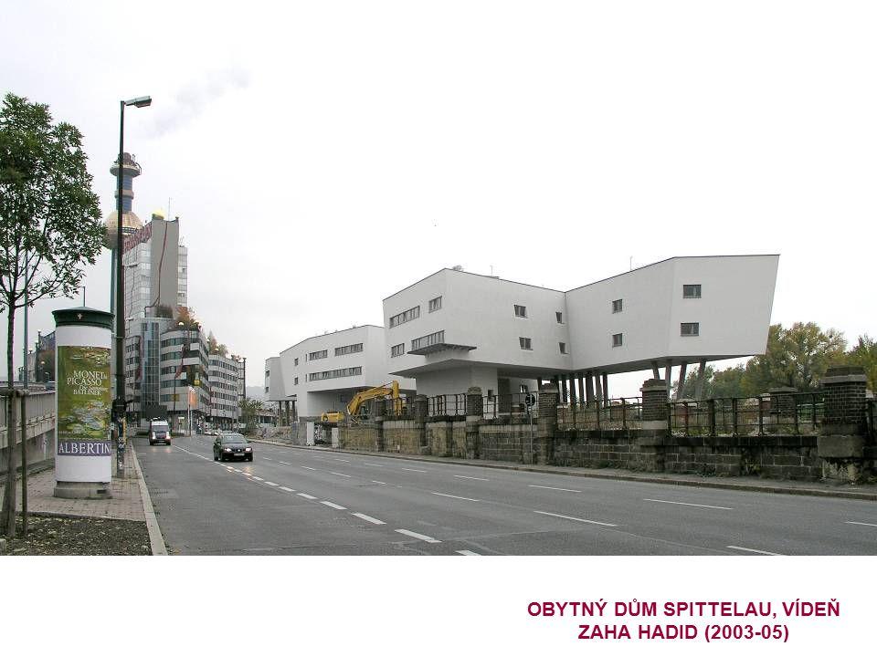 OBYTNÝ DŮM SPITTELAU, VÍDEŇ ZAHA HADID (2003-05)