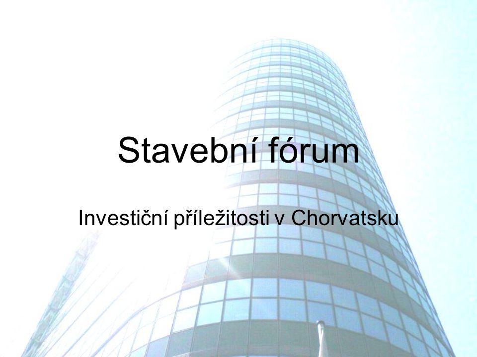 Stavební fórum Investiční příležitosti v Chorvatsku