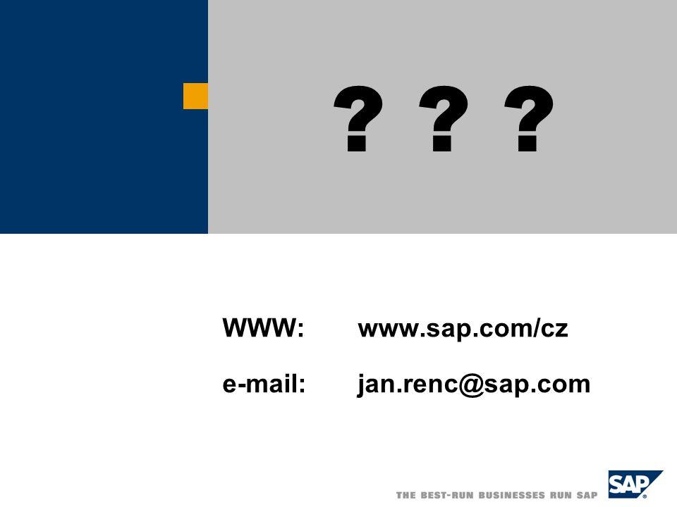 WWW:www.sap.com/cz e-mail:jan.renc@sap.com ? ? ?