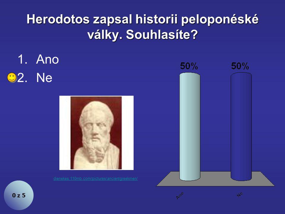 Nejslavnější Myronovou sochou je Diskobolos. Souhlasíte.