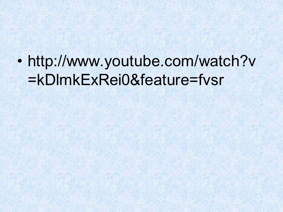 http://www.youtube.com/watch?v =kDlmkExRei0&feature=fvsr