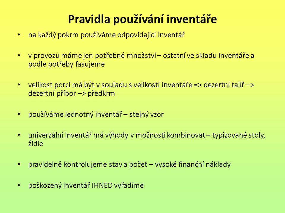 Seznam použité literatury: [1] Mikuláš Matejka, Irena Balagová, Technologie přípravy pokrmů 1, nakladatelství a vydavatelství IQ 147, spol.