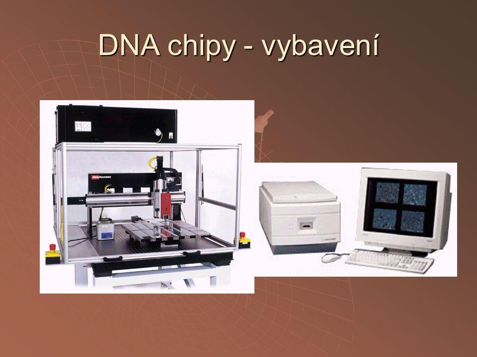 DNA chipy - vybavení