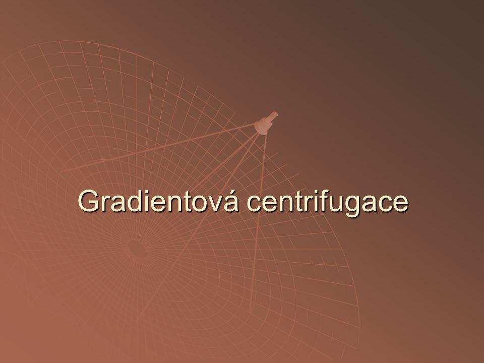 Gradientová centrifugace