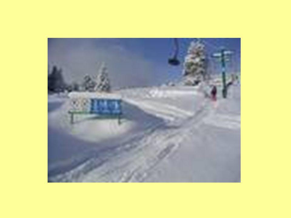 Příklady trajektorie Stopa po lyžích ve sněhu Silnice