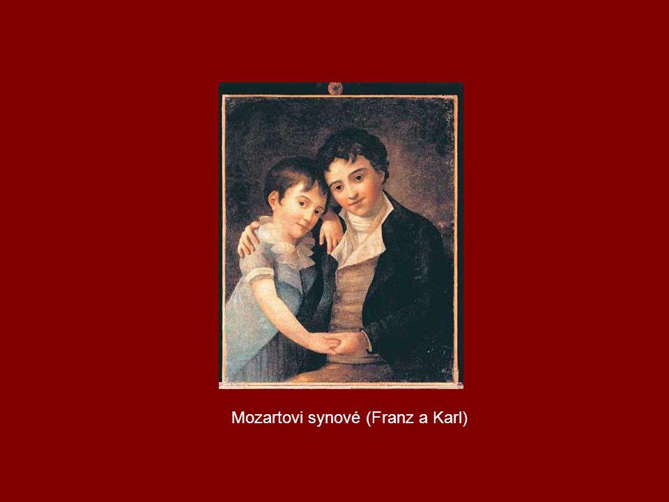 Mozartovi synové (Franz a Karl)