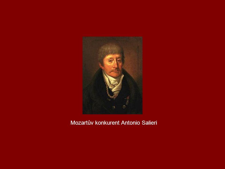 Mozartův konkurent Antonio Salieri