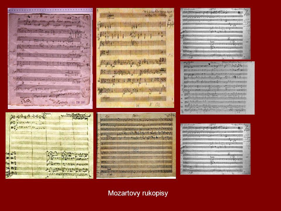 Mozartovy rukopisy