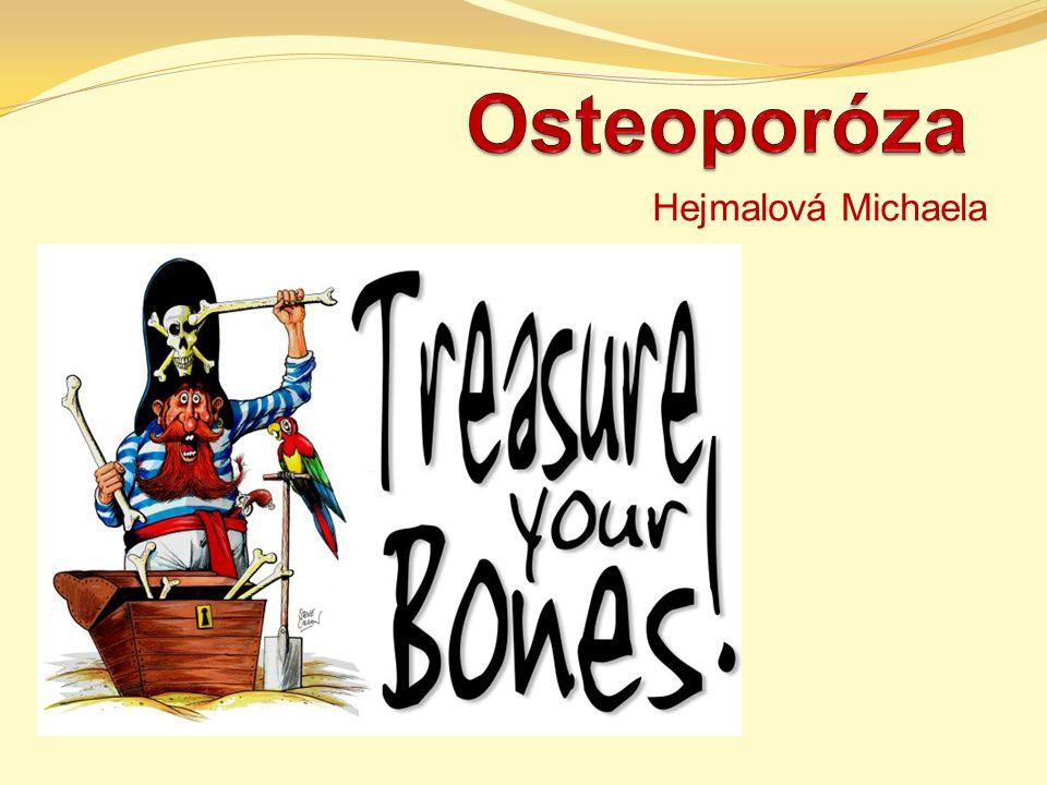 Definice řídnutí kostí tichý zloděj kostí syndrom švédské sekretářky systémové (metabolické) onemocnění skeletu charakterizované absolutním úbytkem kostní hmoty, spojené s poruchou mikroarchitektury kosti, a tím vzniká zvýšené riziko zlomenin