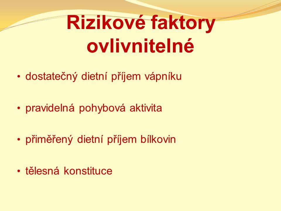 Klasifikace osteoporózy fyziologická (involuční) primární - I.