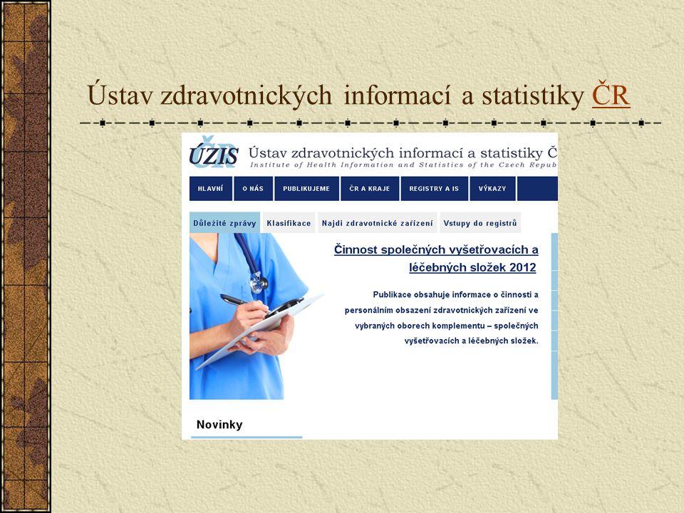 Ústav zdravotnických informací a statistiky ČRČR