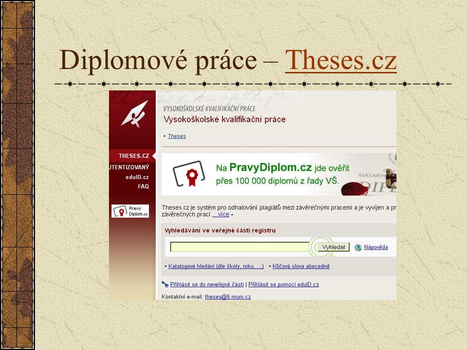 Diplomové práce – Theses.czTheses.cz