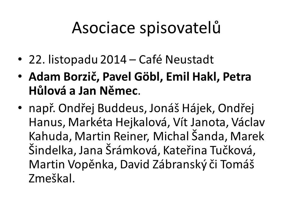 Asociace spisovatelů 22.