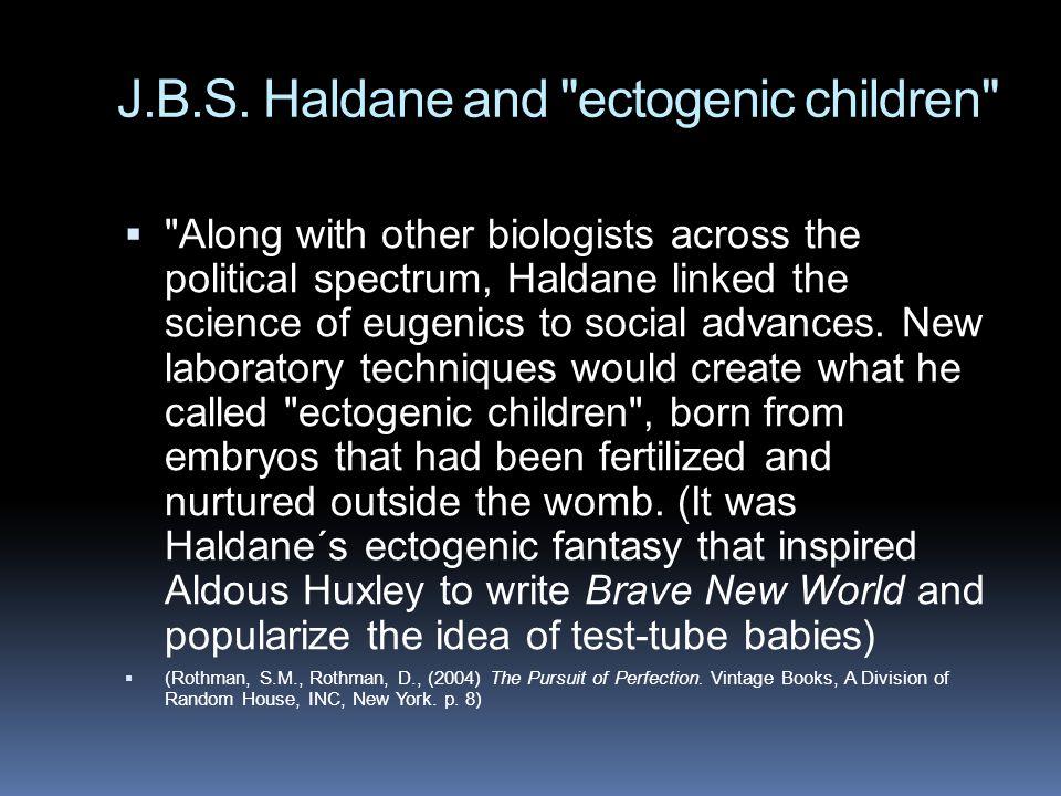 J.B.S. Haldane and