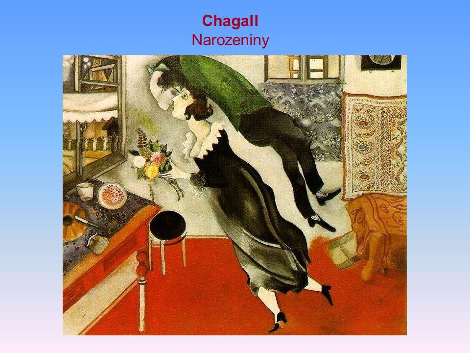 Chagall Narozeniny