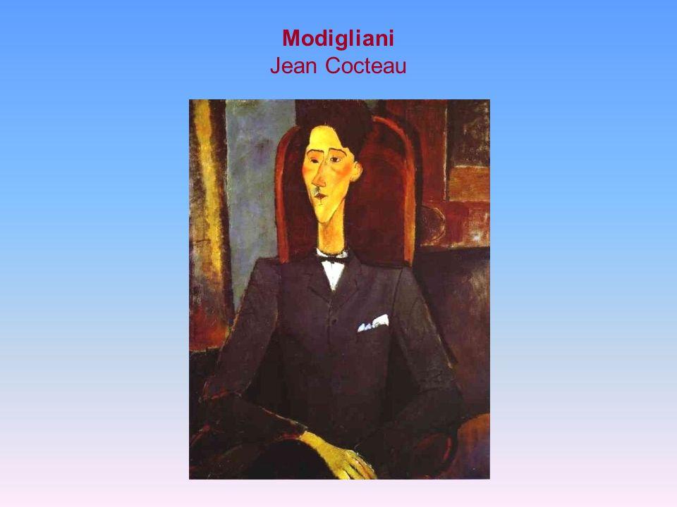 Modigliani Jean Cocteau