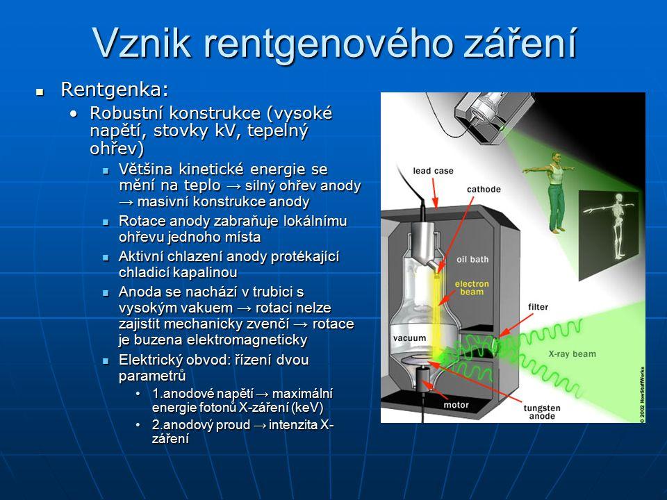 Filtry a clony u rentgenového záření Kolimační filtry a clony Kolimační filtry a clony Vymezení úzkého svazku X-záření → ostrý obraz, vysoké prostorové rozlišeníVymezení úzkého svazku X-záření → ostrý obraz, vysoké prostorové rozlišení Primární clona (za rentgenkou) – hliníkový plech → pohlcuje nízkoenergetické fotony (začátek spektra X-záření)Primární clona (za rentgenkou) – hliníkový plech → pohlcuje nízkoenergetické fotony (začátek spektra X-záření) Sekundární clona (Buckyova-Potterova či Lysholmova) – rovnoběžbé absorpční lamely (olověné pásky) – propouští záření ve směru původního svazkuSekundární clona (Buckyova-Potterova či Lysholmova) – rovnoběžbé absorpční lamely (olověné pásky) – propouští záření ve směru původního svazku