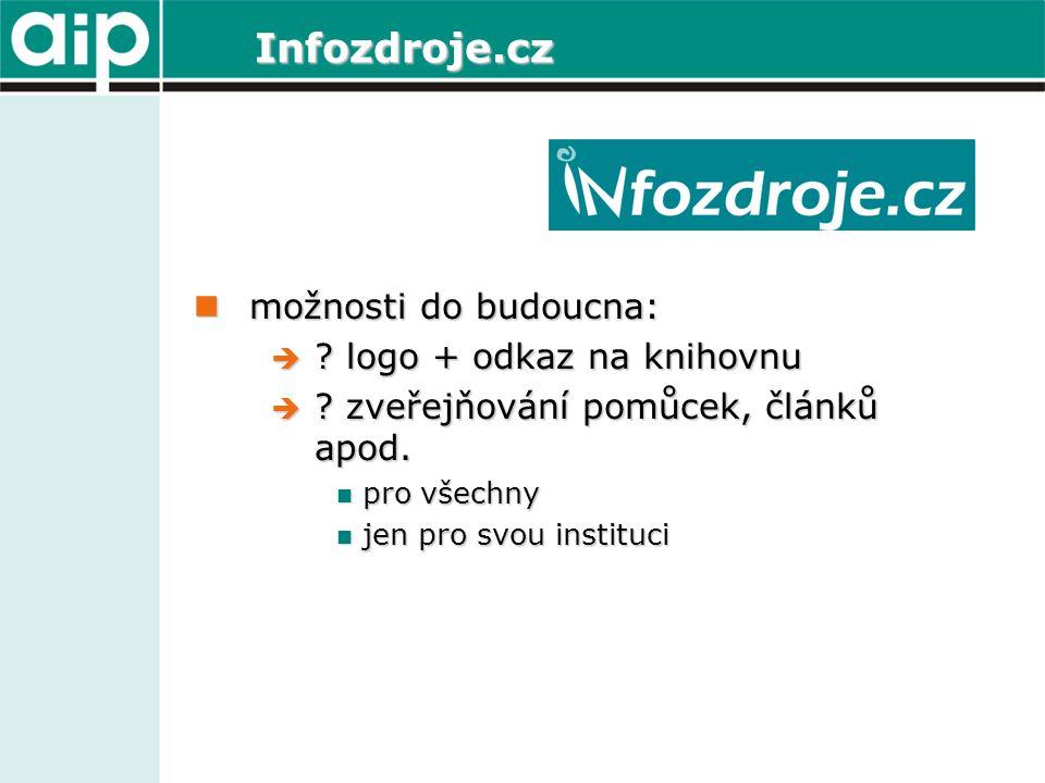 Infozdroje.cz možnosti do budoucna: možnosti do budoucna:  .