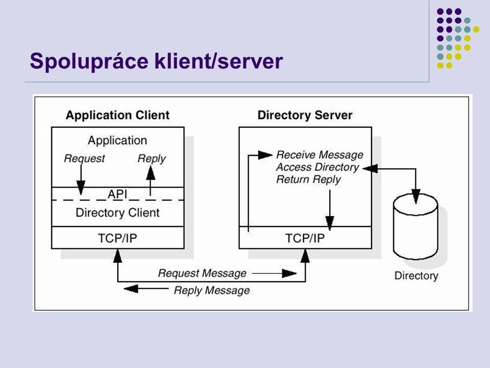 Spolupráce klient/server