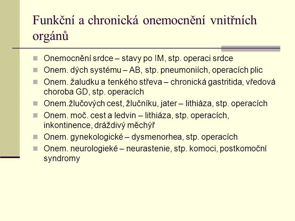 Cévní choroby Funkční poruchy prokrvení Ateroskleróza Změny u DM (cukrovka), dny Lymfostáza