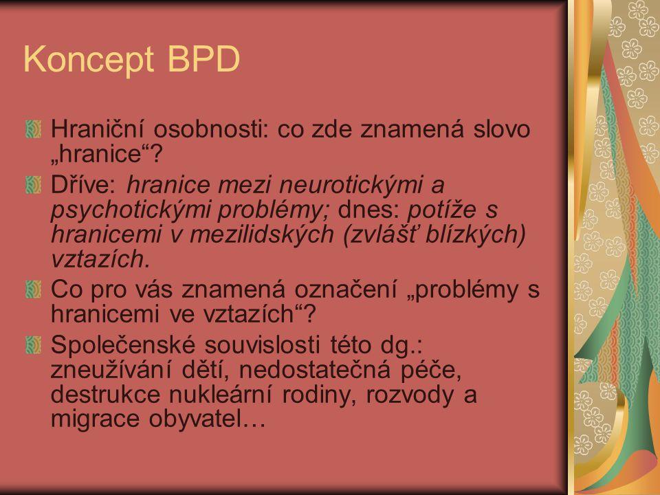 """Koncept BPD Hraniční osobnosti: co zde znamená slovo """"hranice ."""