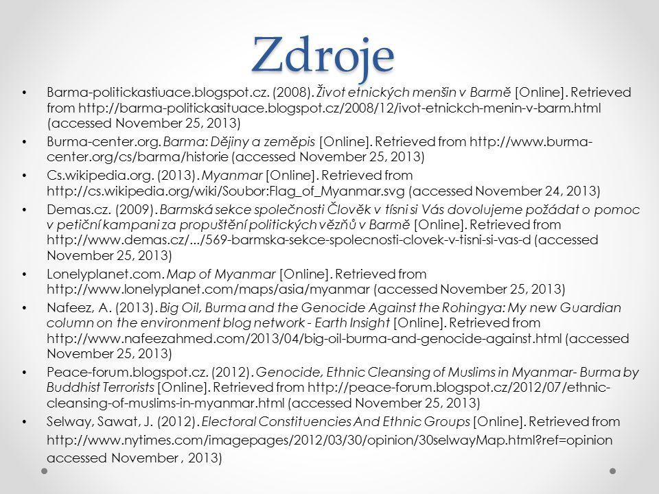 Zdroje Barma-politickastiuace.blogspot.cz.(2008).