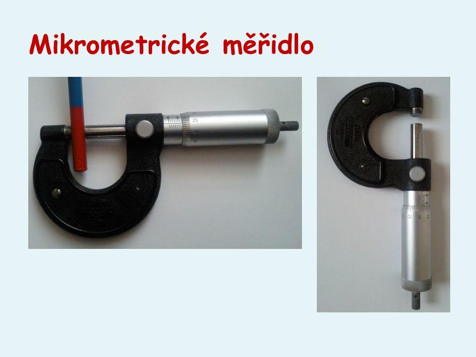Mikrometrické měřidlo