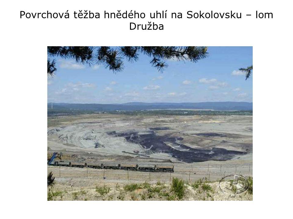 Historie těžby lignitu, resp.
