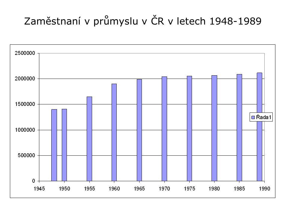 TERCIÉRNÍ SEKTOR Ze tří základních sektorů NH bylo v roce 1948 nejméně osob zaměstnáno ve III.