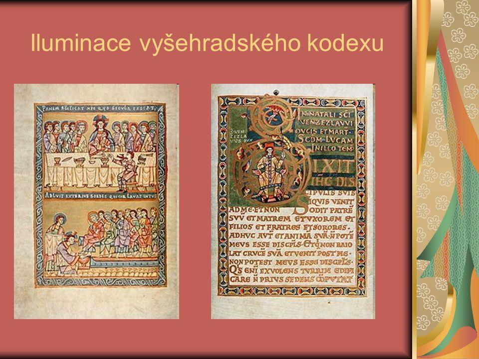 Iluminace vyšehradského kodexu