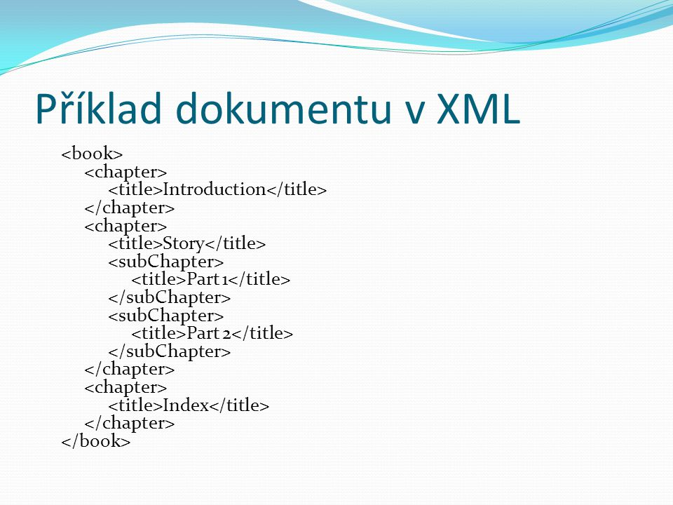 Validita XML