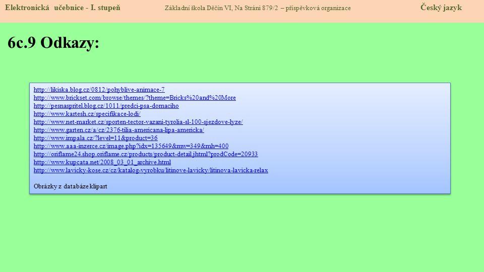 6c.10 Anotace Elektronická učebnice - I.