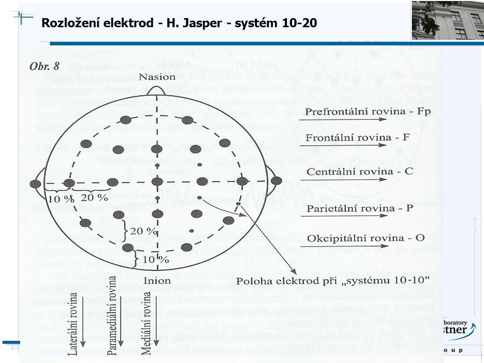 B i o c y b e r n e t i c s G r o u p Rozložení elektrod - H. Jasper - systém 10-20