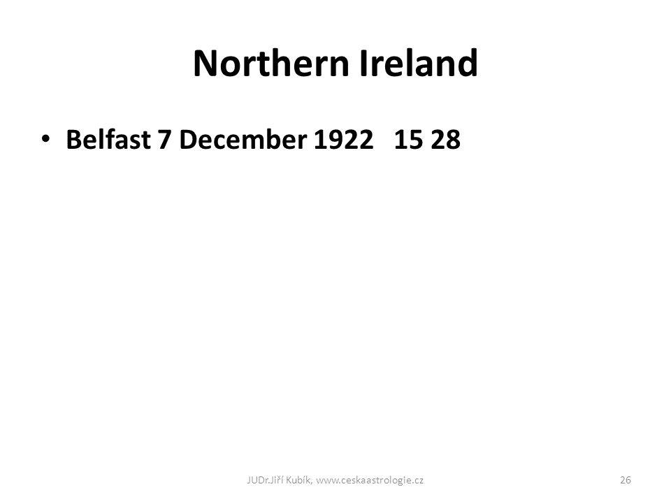 Northern Ireland Belfast 7 December 1922 15 28 JUDr.Jiří Kubík, www.ceskaastrologie.cz26