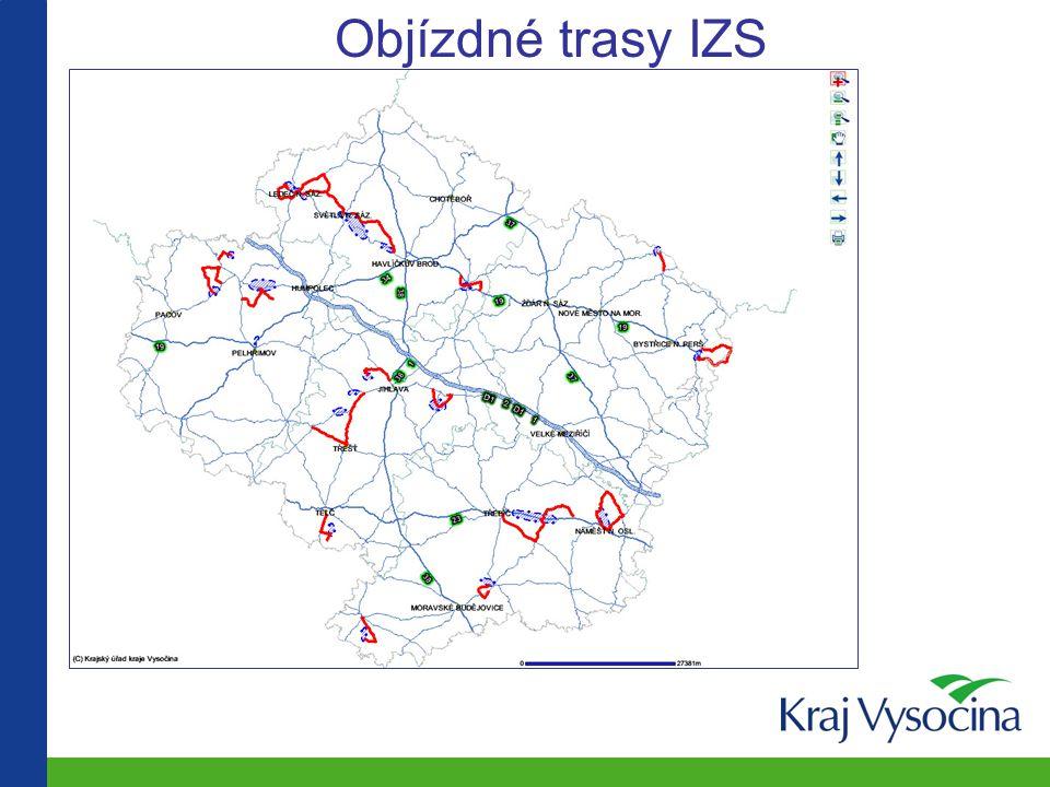 Objízdné trasy IZS