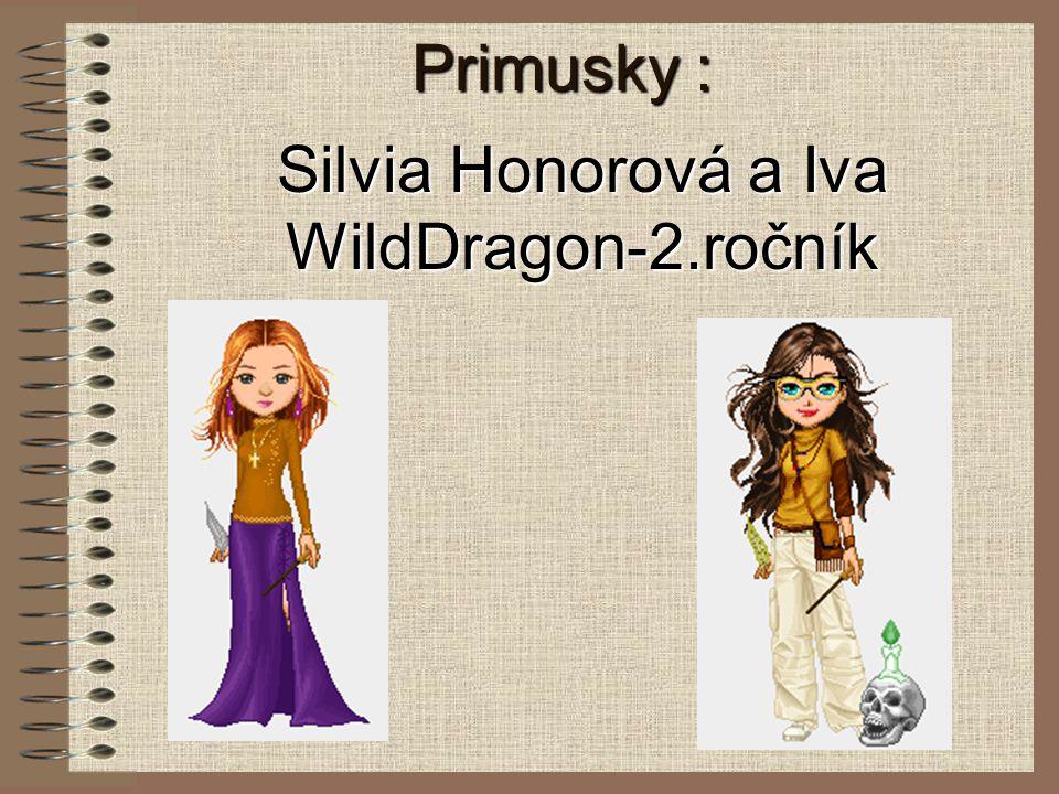 Primusky : Silvia Honorová a Iva WildDragon-2.ročník