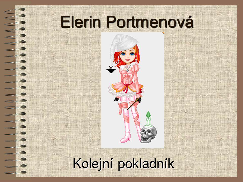 Elerin Portmenová Kolejní pokladník