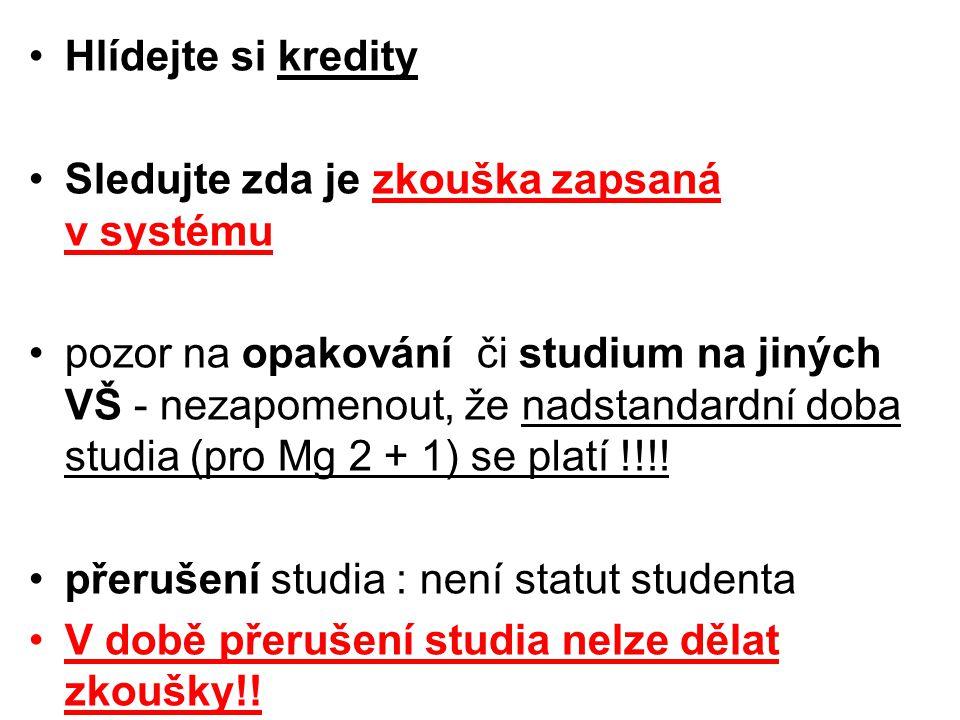 Přihláška ke SZZ do 28.2.2009 podání přihlášky prostřednictvím BADIS https://badis.czu.cz Název diplomové práce musí konečný – musí souhlasit na přihlášce ke SZZ tak na vlastní práci
