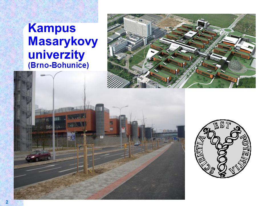 2 Kampus Masarykovy univerzity (Brno-Bohunice)