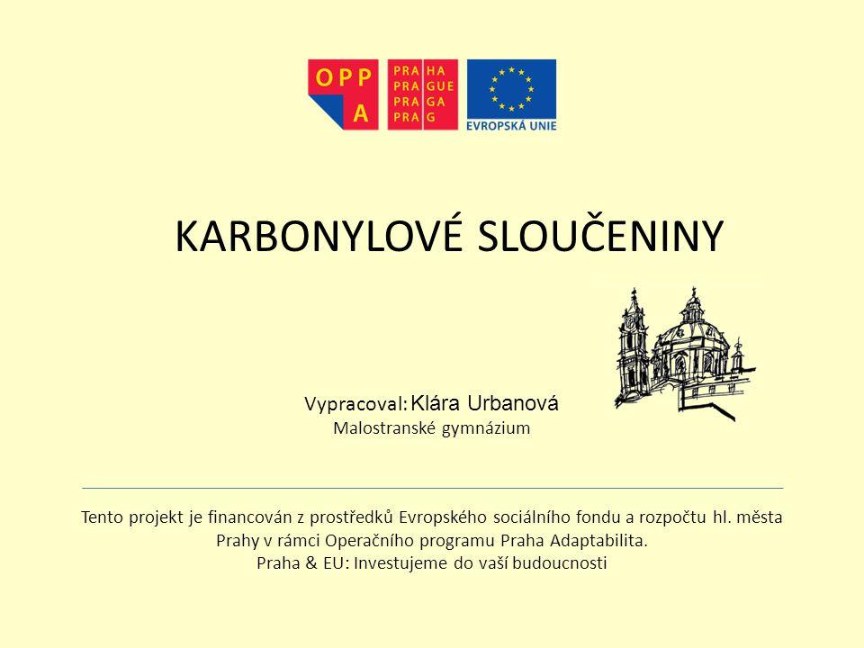 Tento projekt je financován z prostředků Evropského sociálního fondu a rozpočtu hl.