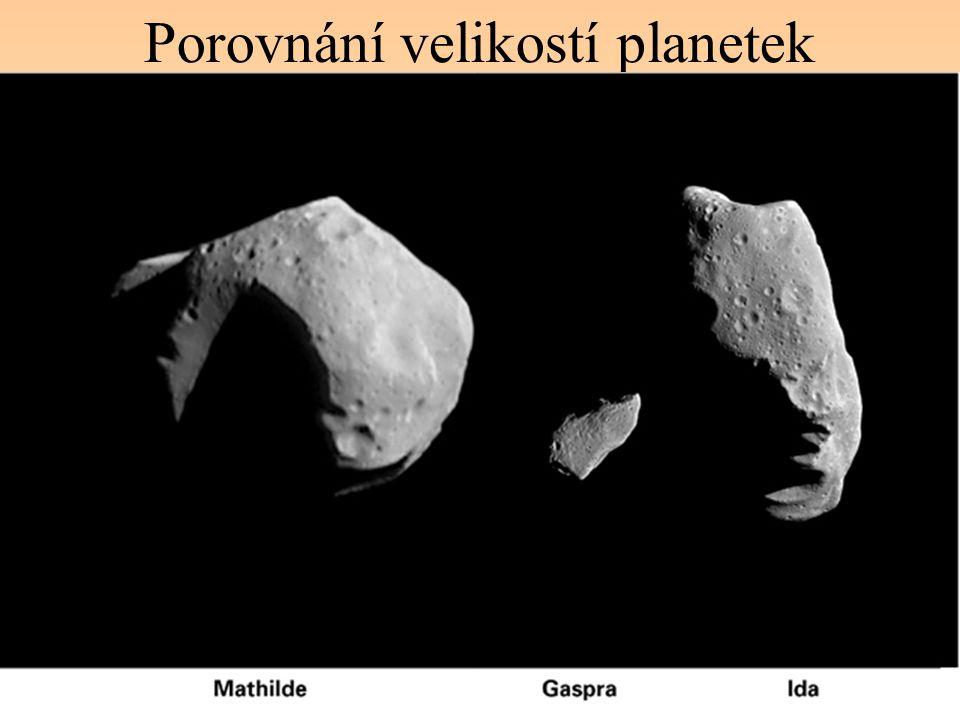 Porovnání velikostí planetek